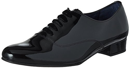 Pinto Di Blu Damen Julie Oxfords, Schwarz (Black), 39 EU