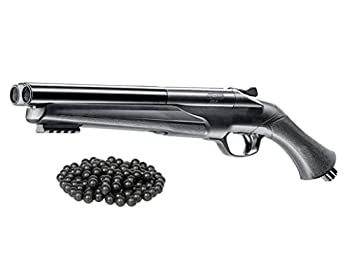 T4E UMAREX HDS .68cal Double Barrel Paintball/Rubber Balls Marker  7.5 Joules  w/Free 20 .68cal RubberBalls