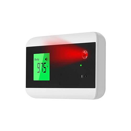 Sensor Inteligente Medición De La Temperatura Corporal Termómetro Digital No Infrarrojo Montado En La Pared Frente Alarma Automática