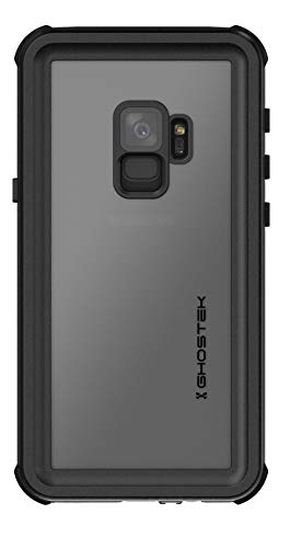 Ghostek Nautical Galaxy S9 Waterproof Case with Screen Protector Extreme Heavy Duty Protection Slim Rugged Shockproof Full Body Underwater Watertight Seal Cover for 2018 Galaxy S9 (5.8 Inch) - (Black)