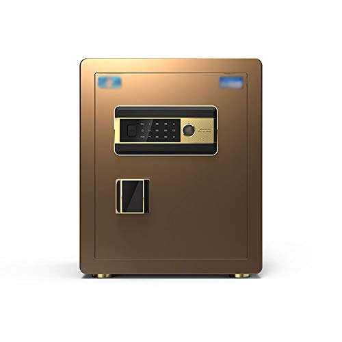 Buy Hw Safety Cabinet, Invisible Password Fingerprint Double Lock Home Office All-Steel Stealth Anti...