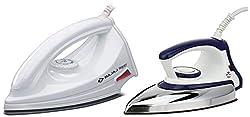 Bajaj Majesty DX 11 1000-Watt Dry Iron (Blue/White) & Majesty DX 6 1000-Watt Dry Iron (White) Combo