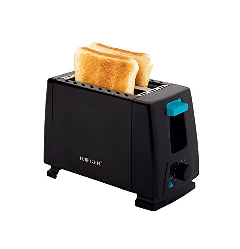 LJYTMZ Tostadoras,tostadora Automática Simple,tostadora Doméstico Multifuncional,2 Posiciones Tostado,Apto para Rebanadas De Pan De Molde