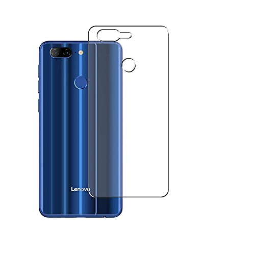 Puccy 2 Pack Back Screen Protector Film, compatible with Lenovo K9 Note TPU Guard Cover ( Not Tempered Glass/Not Front Screen Protectors)