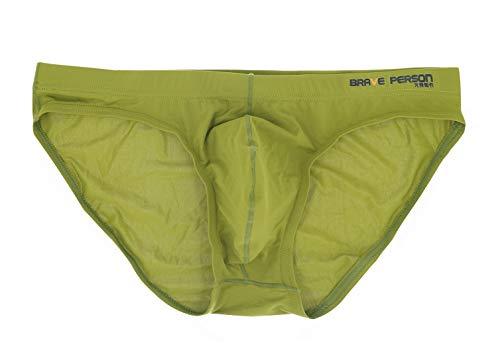 Aivtalk Men Trunks Sexy Underwear Briefs Shorts Underpants Size S - Green