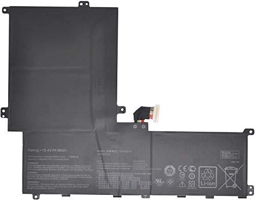 C41N1619 C41PKCH 0B200-02350100M Laptop Batterie Ersatz für Asus B9440 B9440UA7200 B9440UA7500 PRO B9440 B9440UA B9440UA-XS51 B9440UA-XS74 Series (15.4V 48Wh)