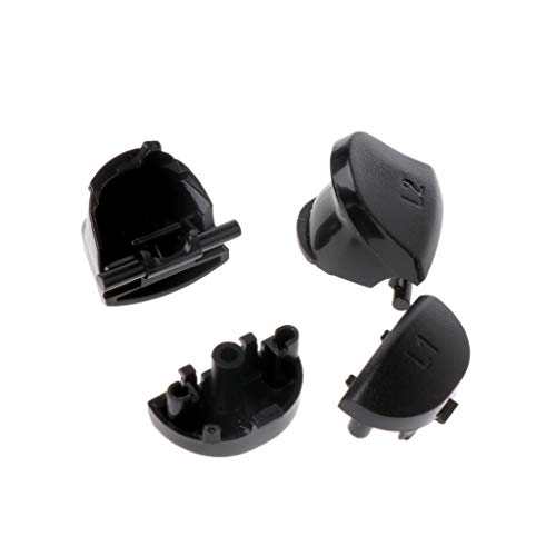 NIANNIAN Joystick L1 R1 L2 R2 Auslösetasten 3D Analoge Joysticks Daumenstifte Kappe Leitfähiger Gummi Für PS4-Controller-Reparatursatz