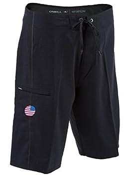 O NEILL GI Jack 3 Hyperfreak Boardshorts 36 Black  SP9106044Q