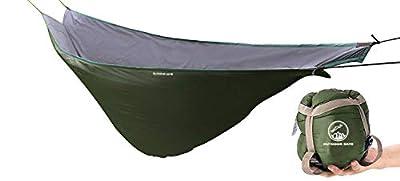 OUTDOOR SKYE Hammock Underquilt Lightweight Sleeping Bag Quilt for Camping, Backpacking, Backyard - Packable Full Length Under Blanket add Hollow Cotton