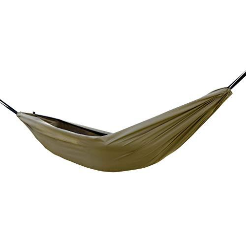 GCX Sólido Hamaca for Exteriores Tienda Anti Mosquitos Hamaca for Acampar antivuelco Columpio multifunción Relajarse