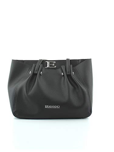 ERMANNO SCERVINO - Small tote giovanna #black 12400946