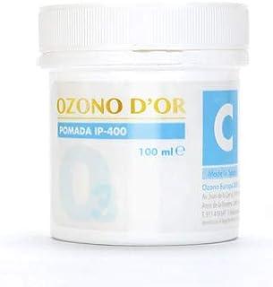 OZONO DOR. Pomada Cicatrizante Natural de Ozono IP-400 (100ml). Pomada para heridas cicatrices úlceras dermatitis psor...
