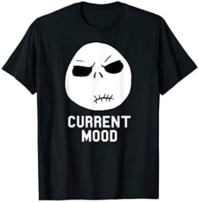 Disney Nightmare Before Christmas Current Mood T Shirt product image
