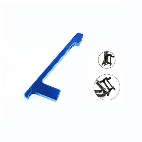 MTB Bremsscheiben Adapter, Post Mount zu Vorne Gabel oder Hinten Frame PM-PM für 180mm Scheibenbrems