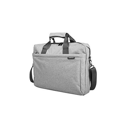 Natec Genesis - Laptoptasche Natec Senfgelb 39,6 cm (15,6 Zoll) Grau