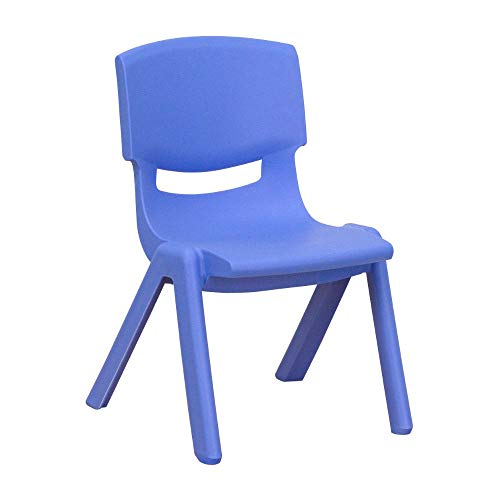 Flash Furniture FurnitureSeatingChairsStack, 10.5', Blue