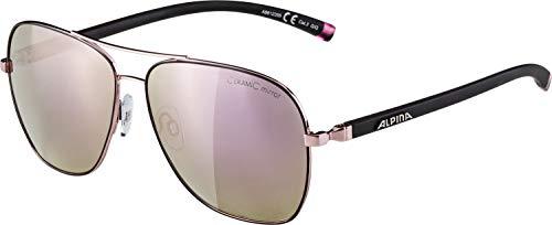 Alpina Jump 2.0 QVMM skihelm voor volwassenen, roze-zwart, 55-58 cm