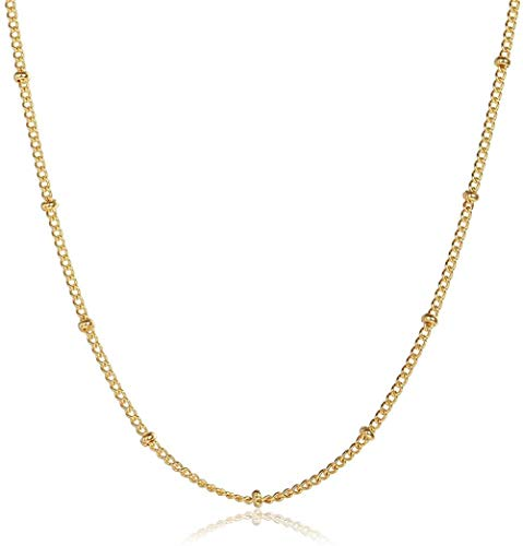 LBBYMX Co.,ltd Necklace 1.5mm Gold Color Round Elizabeth Queen Charm Pendant Necklace for Women Girls Stainless Steel Jewelry Necklace