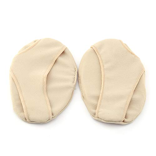 1 Pair Forefoot Support Insoles Reusable Silicone Foot Cushion Protectors Forefoot Pad for Shoes Boot