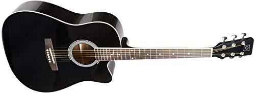 Guitarra acústica - Oqan, Guitarra Acust Qga-21 Cut Bk