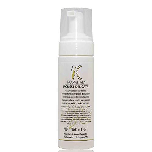 Mousse - Limpiador facial hidratante delicado, 150 ml, leche y tónico de...