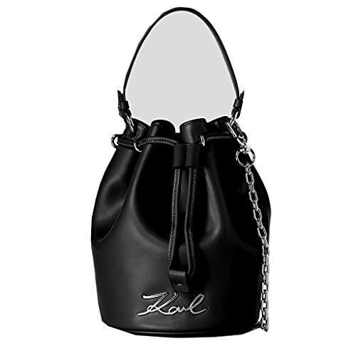 Karl Lagerfeld K/signature Bucket Handväskor Kvinnor Svart - En Storlek - Handväskor Med Kort Rem