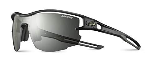Julbo Aero-Herren-Sonnenbrille, transluzent, Schwarz/Armee, Einheitsgröße