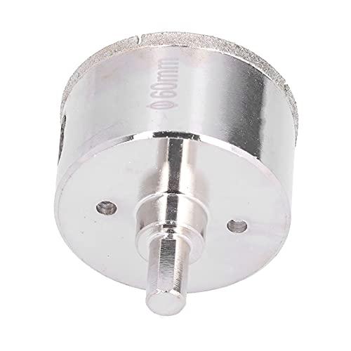 Gaeirt Broca para Sierra Perforadora, portátil anticorrosión de Vidrio para abridor de Orificios para mármol