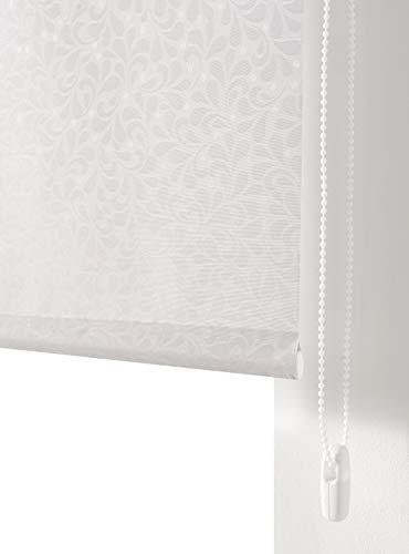 Estoralis SANDOR Estor Enrollable Jacquard Blanco 150 x175 cm