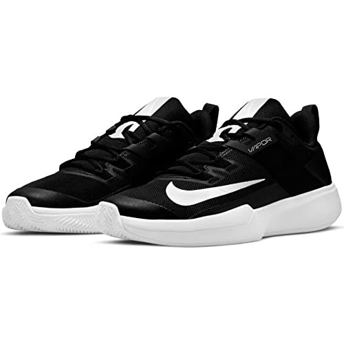 Nike Vapor Lite Cly, Scarpe da Tennis Uomo, Black/White, 40 EU