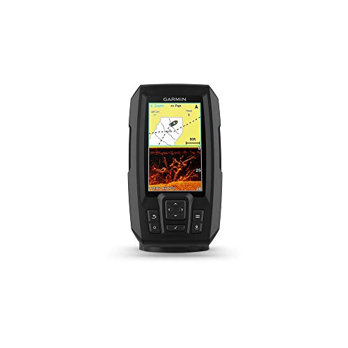 Garmin STRIKER Plus 4cv GPS Fish Finder + GT20 Transom Mount Transducer
