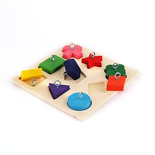 Giocattoli per uccelli Forniture per pappagalli Forniture per uccelli Giocattoli per addestramento intelligente Giocattoli educativi per pappagalli Giocattoli per pappagalli Puzzle in legno