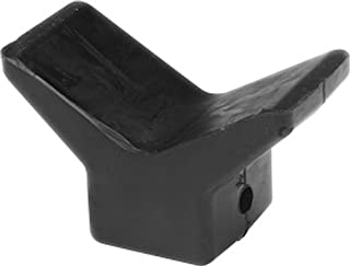 SeaSense Black Rubber Bow Stop, 4-Inch