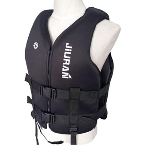 Phil Beauty Salvavidas De Neopreno De Rescate Ajustable para Guardar Unisex Tela Oxford/PVC Impermeable Y Resistente Al Desgarro Pesca Surf Kayak Remo