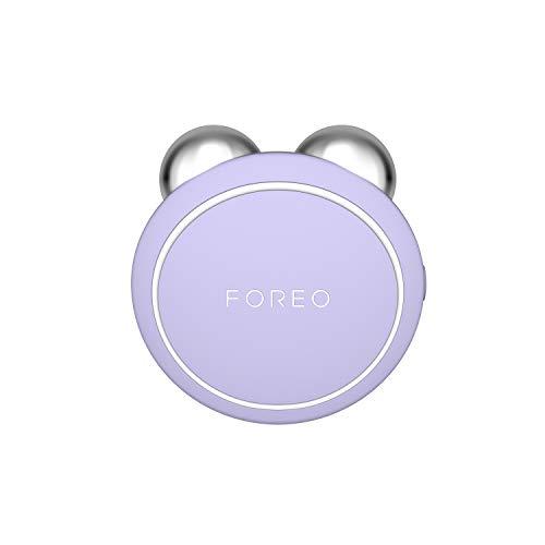 Foreo Bear Mini-Gesichts-Toniergerät mit Mikro-Stromen, 3 Intensitäten und App-Verbindung