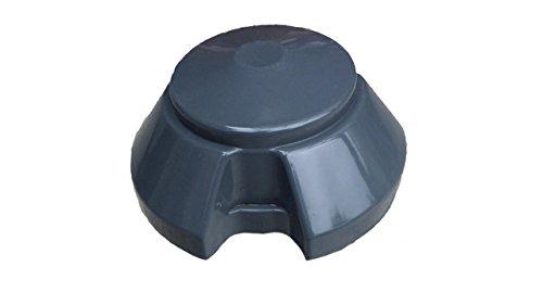 Weerkap/ontluchtingskap DN 100, afzuighoed, ventilatiepaddenstoel, garage, dakventilator, reservekap, PVC, DN 110