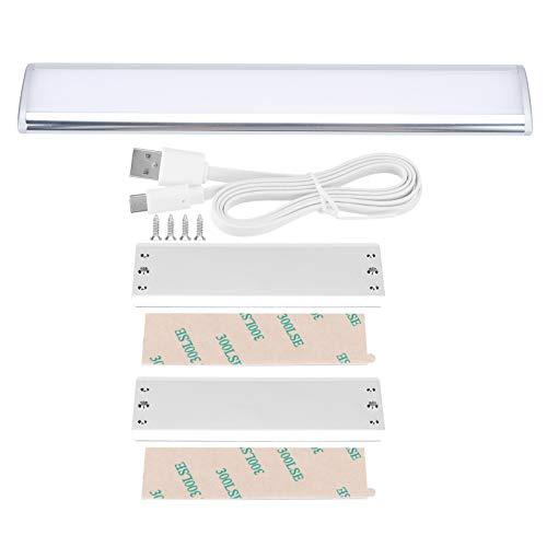 Lámpara de armario de larga duración, recargable, mando a distancia, lámpara de armario de salón (luz blanca fría)