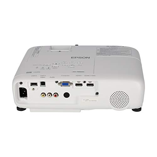 "Epson EH-TW650 - Proyector Home Cinema Full HD 1080p con Wi-Fi, 3100 lúmenesy, Contraste 15.000:1, Lámpara Larga Duración 7500 Horas, Pantalla Hasta 300"", Tecnología 3LCD"