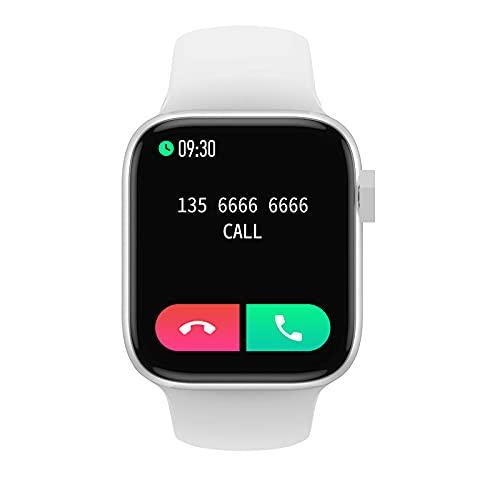 Zwbfu BRANSIÓN Exterior NK03 Pulsera Inteligente Monitoreo del sueño 1.72 Big Screen Bluetooth Llamar música Reloj Deportivo(Plata)