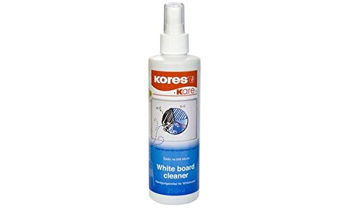 Kores whiteboardreiniger, pompspray-fles, 250 ml Single Whiteboard-Reiniger