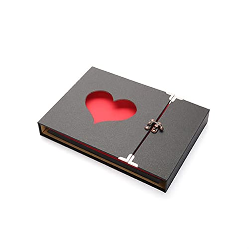WWWL Álbum de Fotos, Gran álbum de Bricolaje de 10 Pulgadas Boda...