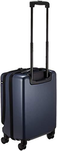 [エース]スーツケースコーナーストーンZフロントポケット付機内持ち込み可36L47cm3.1kgネイビー