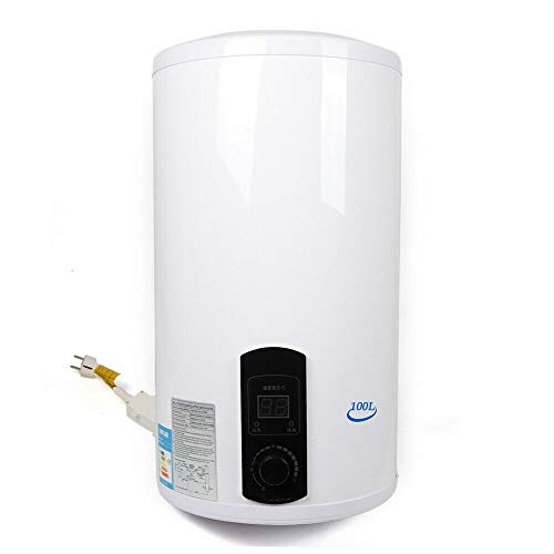 Serbatoio elettrico per acqua calda, 100 l, 2 kW, da parete, scaldabagno per acqua calda, 230 V (100 litri)