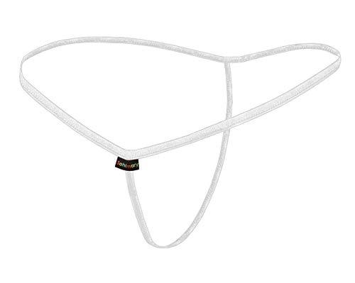 Sohimary Micro 498 Mini String Tanga Made in Deutschland, weiß 498, Einheitsgröße für: XS S M 32 34 36 38