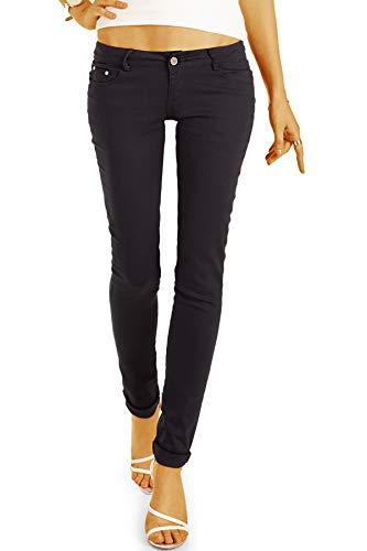 Be Styled Berlin Damenjeans, Röhrenhose, Skinny Jeans j6r 38/M schwarz