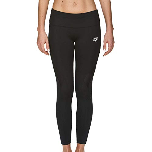 ARENA W Gym Long Tights W, Leggings Sportivi Donna, Nero (Black), L