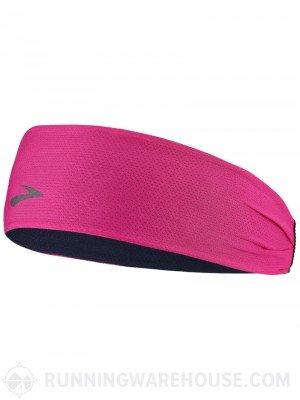 Brooks Moving Comfort Steady Running Headband (Bloom/Marine)