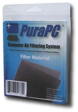 Pura PC Computer Air Filter - Polyurethane Foam Filter
