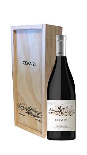 CEPA 21 - Cepa 21, Vino Tinto, Tempranillo, Ribera del Duero (1500 ml - Caja Madera)