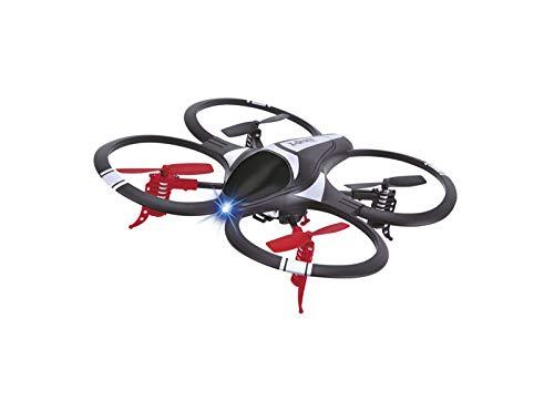 Motor & CO. - Quadcopter 2.4GHZ Drone R/C Mini GS - Drone per Bambini Radiocomandato con Rotazioni 360° e Luci LED, Giroscopio a 6 Assi e Sistema di Stabilizzazione - Giochi per Bambini